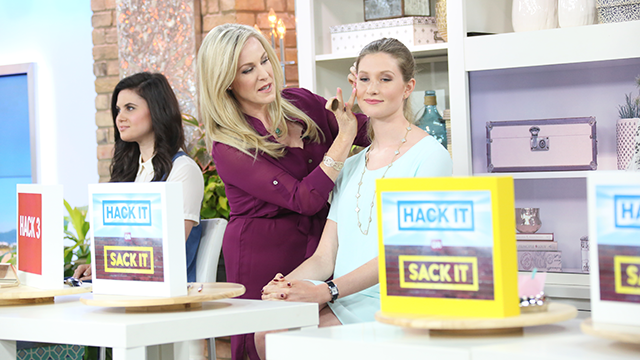 Makeup Expert on The Marilyn Denis Show